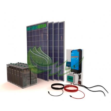 kit solar fotovoltaico para vivienda aislada de la red electrica