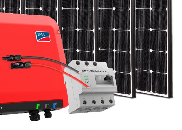 kit solar de autoconsumo para vivienda conectado a red electrica placa solares leroy merlin